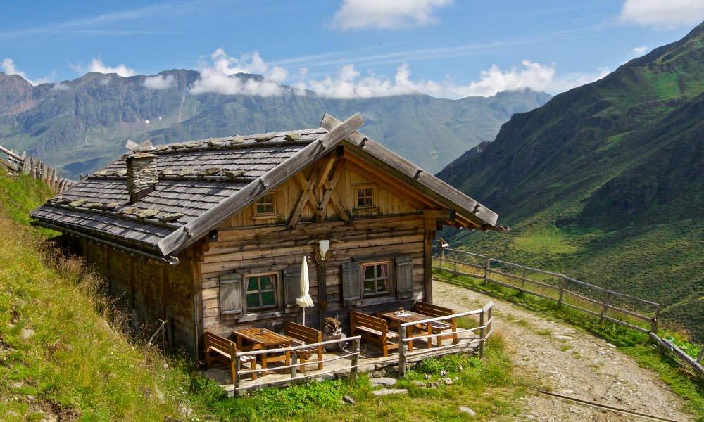 Einkehr auf der Alm - Staudenberghütte