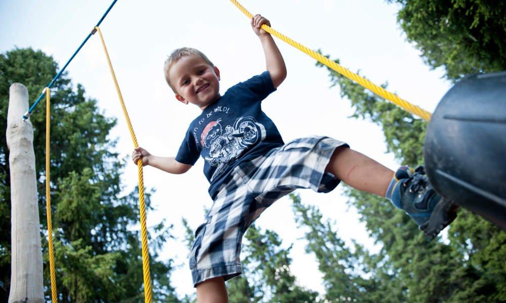 Spielplatz – Riesen Urlaubsgaudi für die Kinder