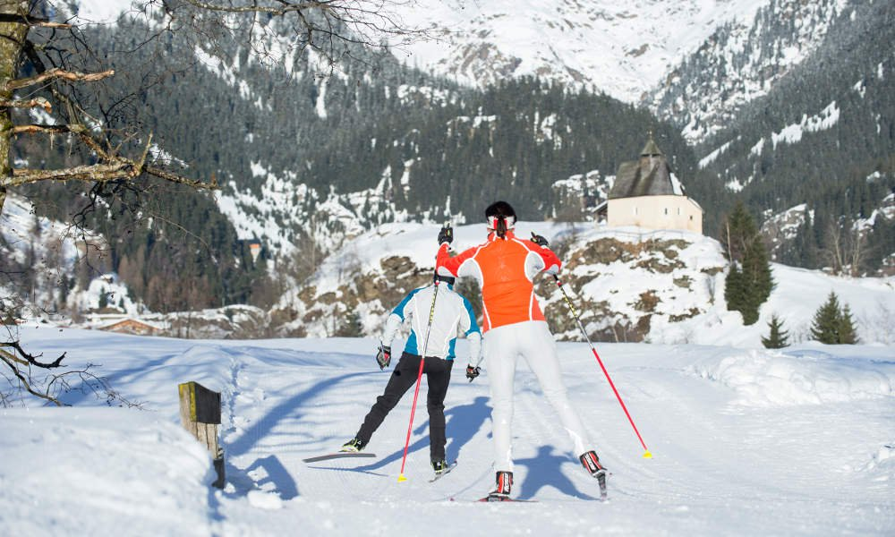 By snow shoe, ski or horse-drawn sledge through the enchanting winter paradise of Ridnauntal